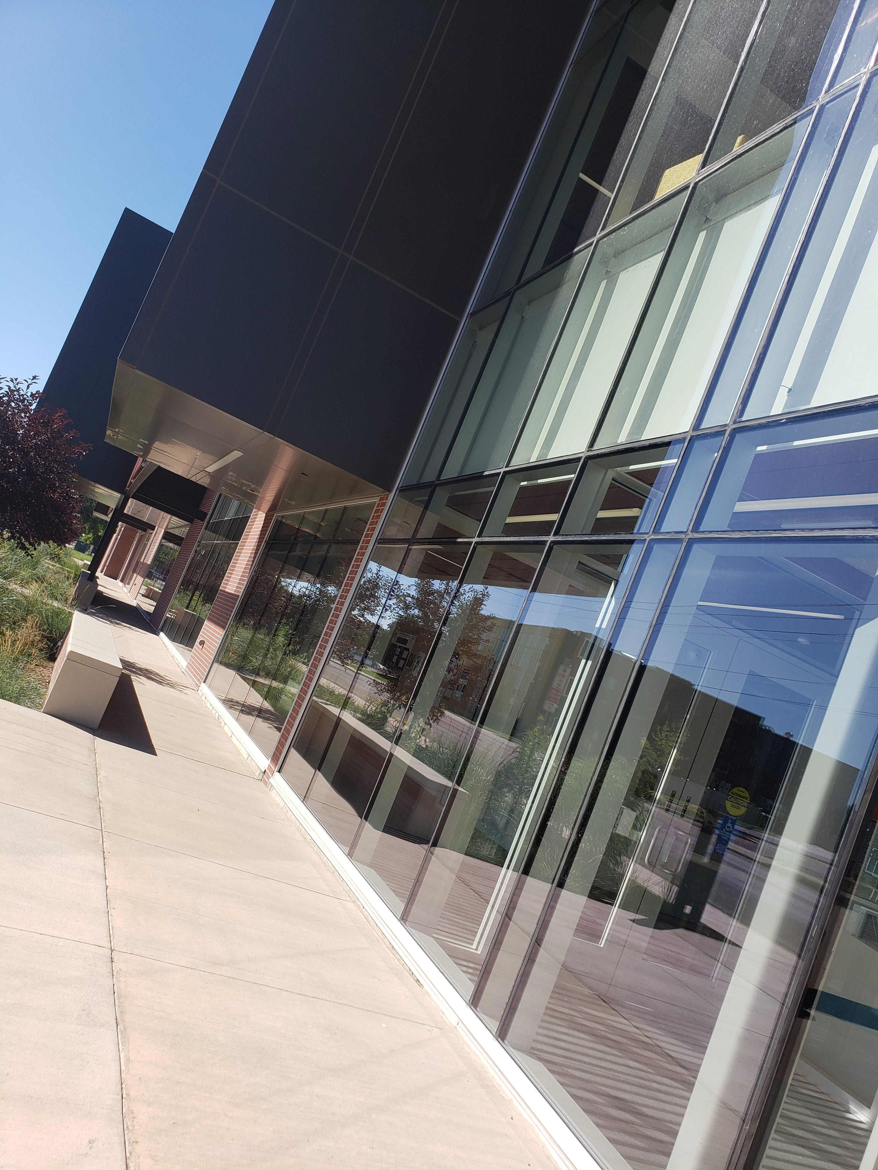 NSU Science Center Curtain Wall