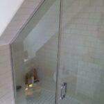 Corner Angled Shower