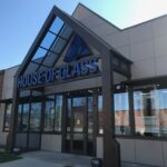 House of Glass Storefront with Windbreak