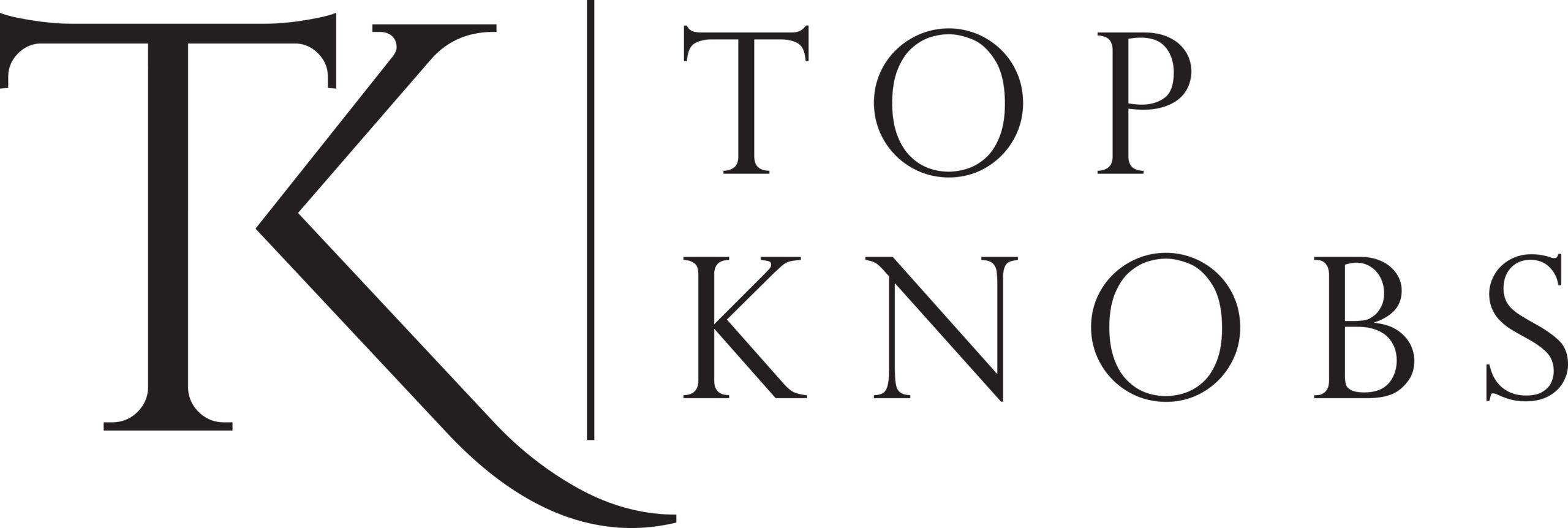 Tk Logo Stacked Outlined Black
